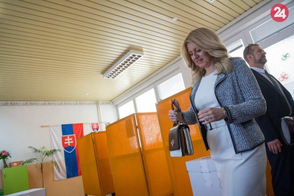 Eurovolieb sa zúčastnila aj Zuzana Čaputová
