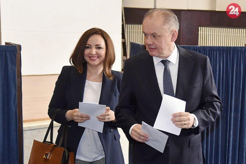 Andrej Kiska poslednýkrát volil v pozícii prezidenta
