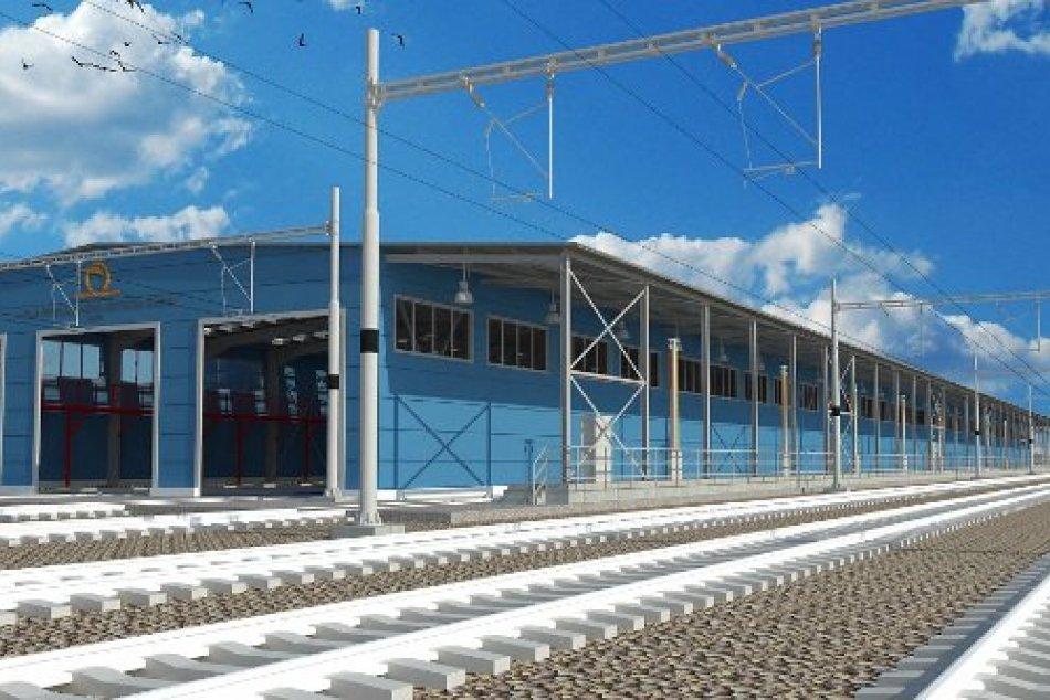 Plánované stredisko technicko-hygienickej údržby v Nových Zámkoch