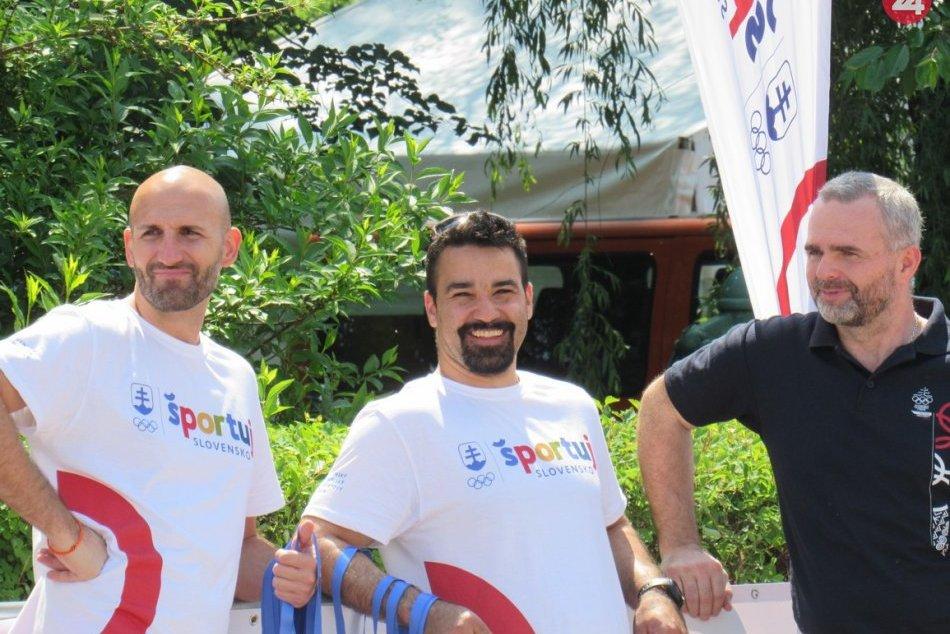 Športový olympijský deň v Prešove OBRAZOM: Do nášho mesta zavítali známe mená