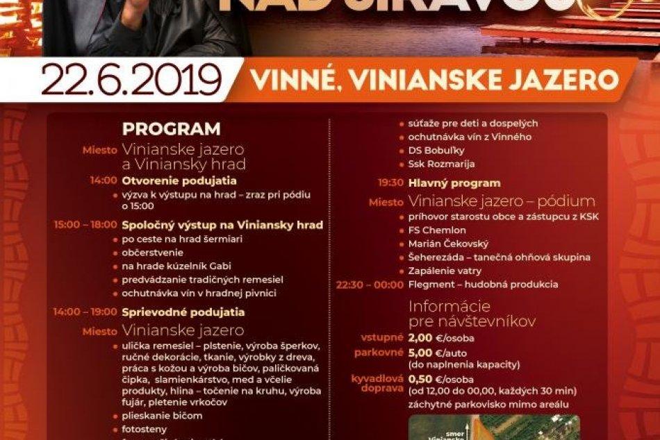 Program Jánskych ohňov nad Šíravou 2019: Na čo sa dá tešiť?