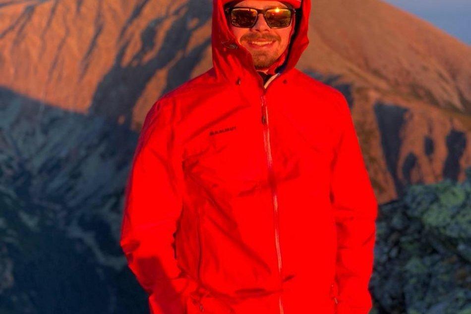 Skialpinista Matúš B.