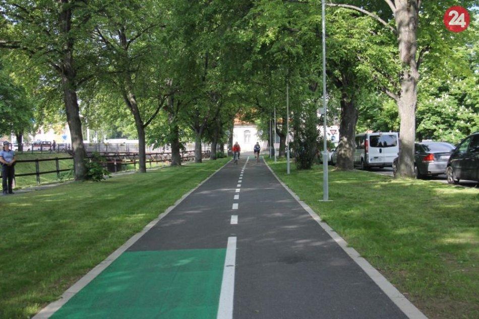 Nový cyklochodník spojil centrum Popradu s akvaparkom