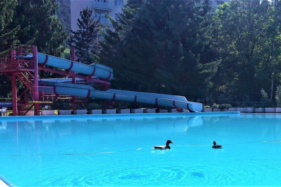 Letné kúpalisko v Považskej Bystrici pred otvorením novej sezóny