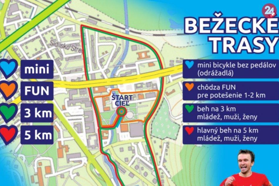 Trate Behu nádeje: V týchto častiach Považskej Bystrice sa pobeží