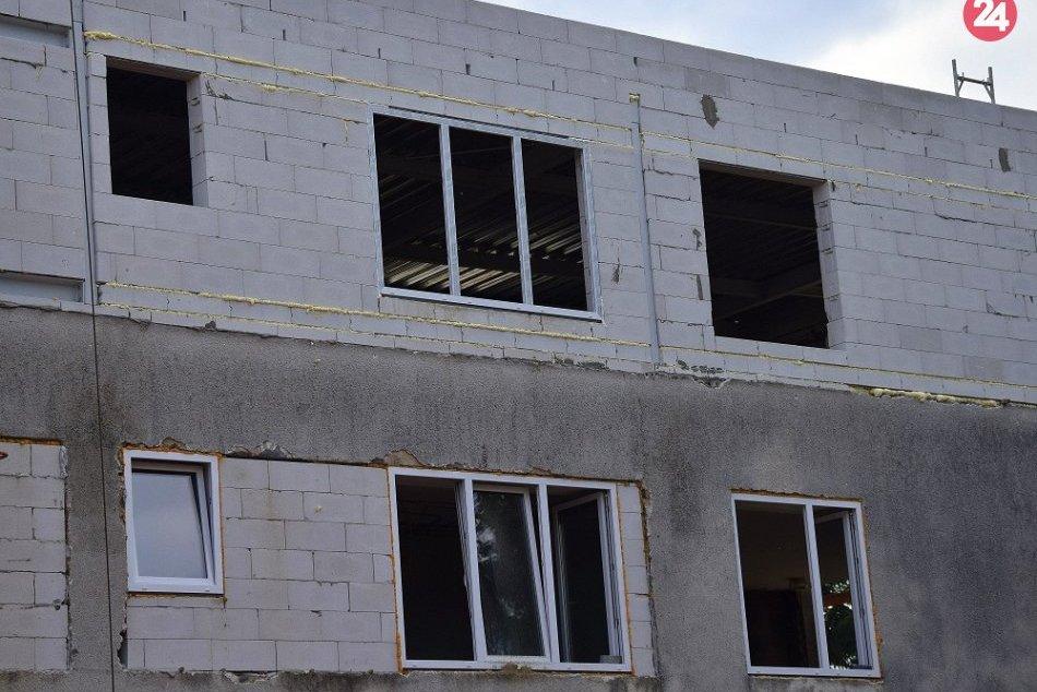 FOTO: Takto aktuálne vyzerá rekonštruovaná mestská budova na Dubníku