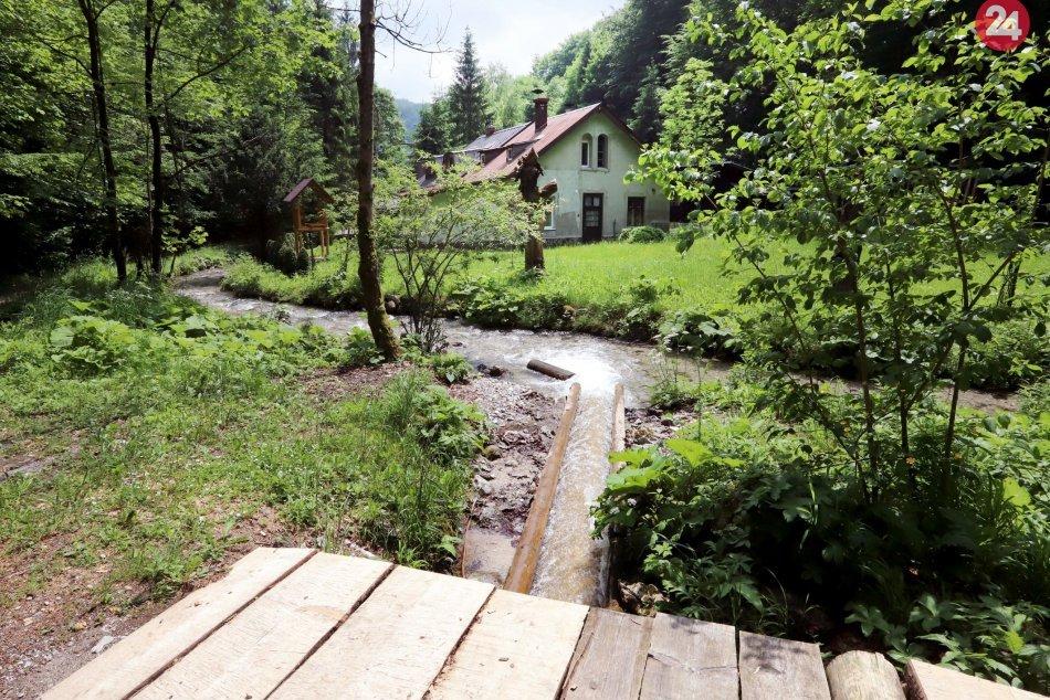 V OBRAZOCH: Krásy obce Dolný Harmanec a jeho okolia