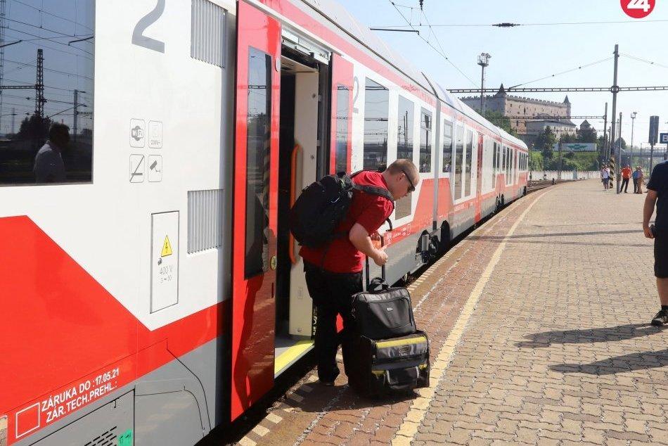 Nové vlaky v Banskobystrickom kraji