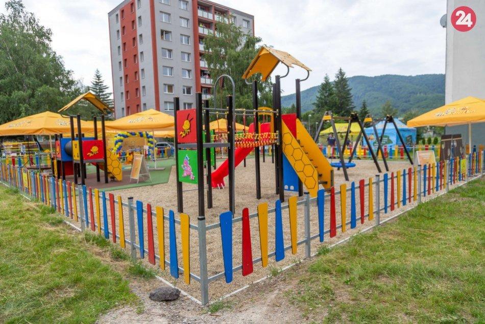 Nové detské ihrisko v Revúcej