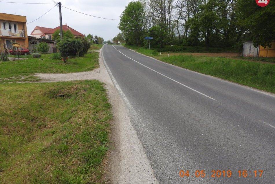 Pri zrážke s autom sa ťažko zranil cyklista: Polícia hľadá svedkov nehody