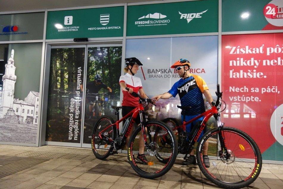 Lepšie možnosti pre turistov i milovníkov cyklistiky v Bystrici