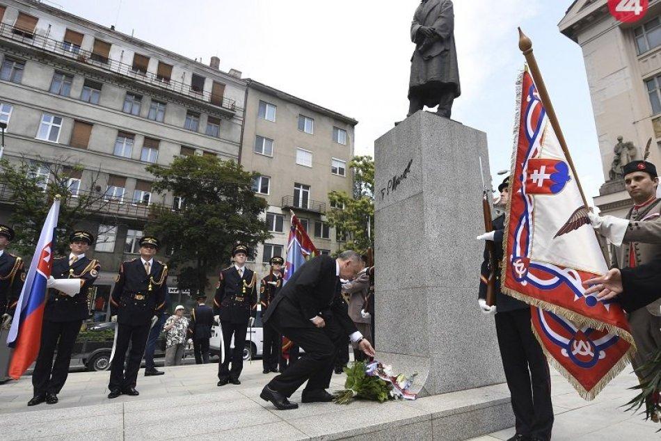 Slávnostné otvorenie Námestia Tomáša Garrigua Masaryka