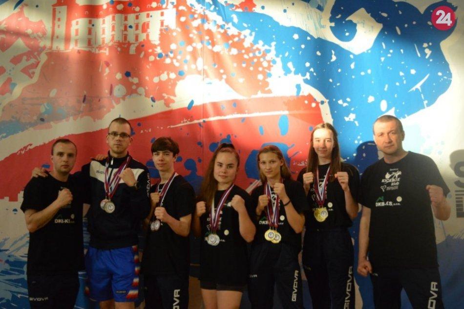 Majstrovstvá SR v kickboxe 2019: Úspech michalovského klubu