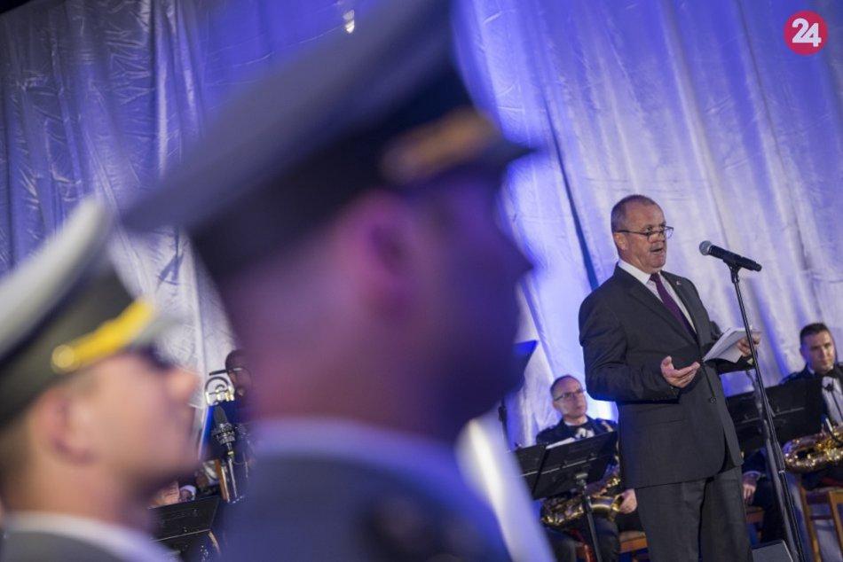 Vojenský čin roka: Zábery z oceňovania