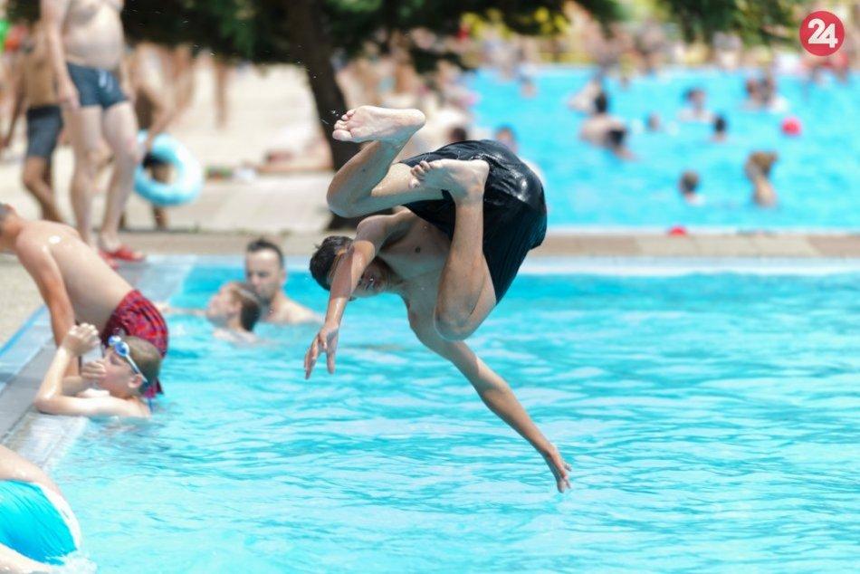 Letné kúpalisko v Nitre zahájilo sezónu