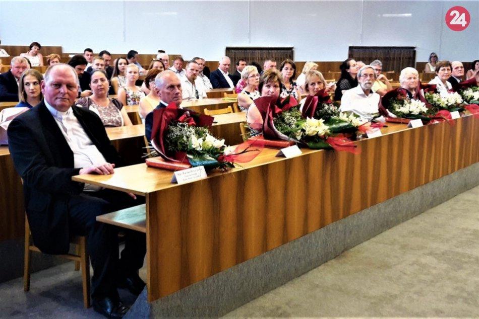 Oceňovanie osobností na Dňoch mesta 2019 v Považskej Bystrici