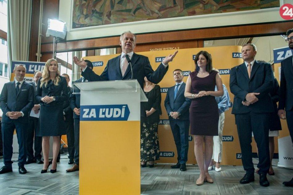 Andrej Kiska oznámil založenie svojej politickej strany