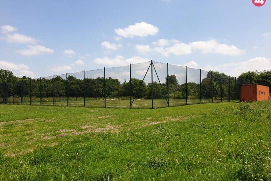 V Novom Meste vyrástlo športové paintballové ihrisko