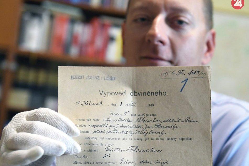 Vzácne dokumenty a listiny: Vyhlásenie Slovenskej republiky rád má 100 rokov