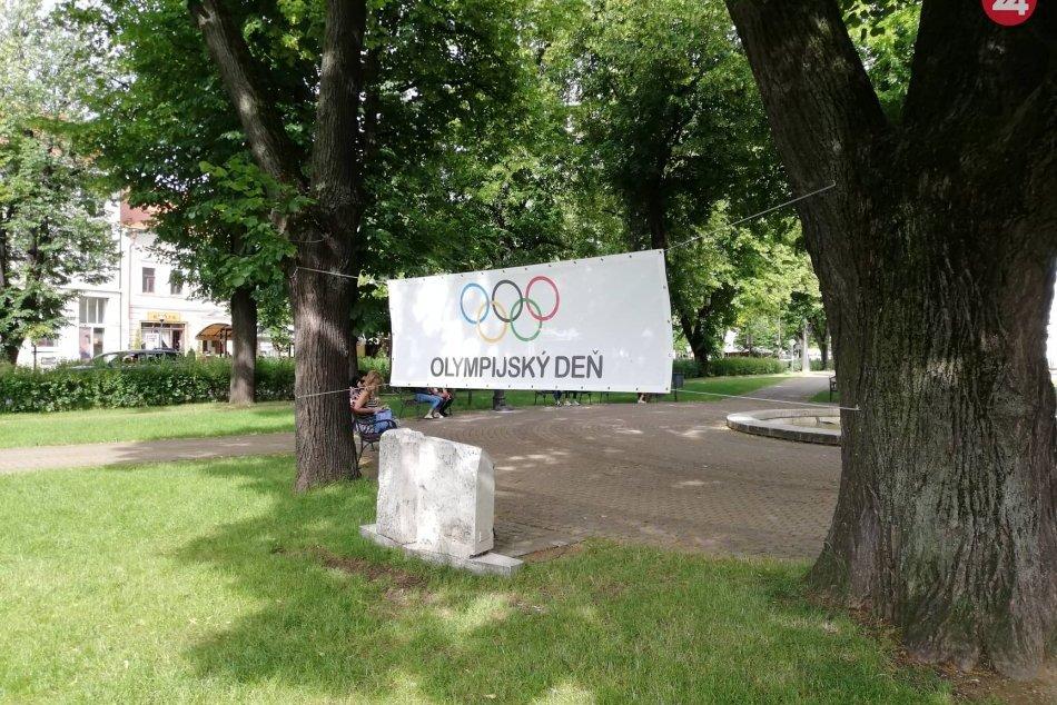 OBRAZOM: V Spišskej sa konal Olyjmpijský deň
