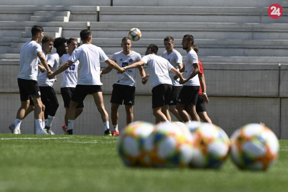 Futbalisti AS Trenčín začali letnú prípravu: Zábery priamo z tréningu