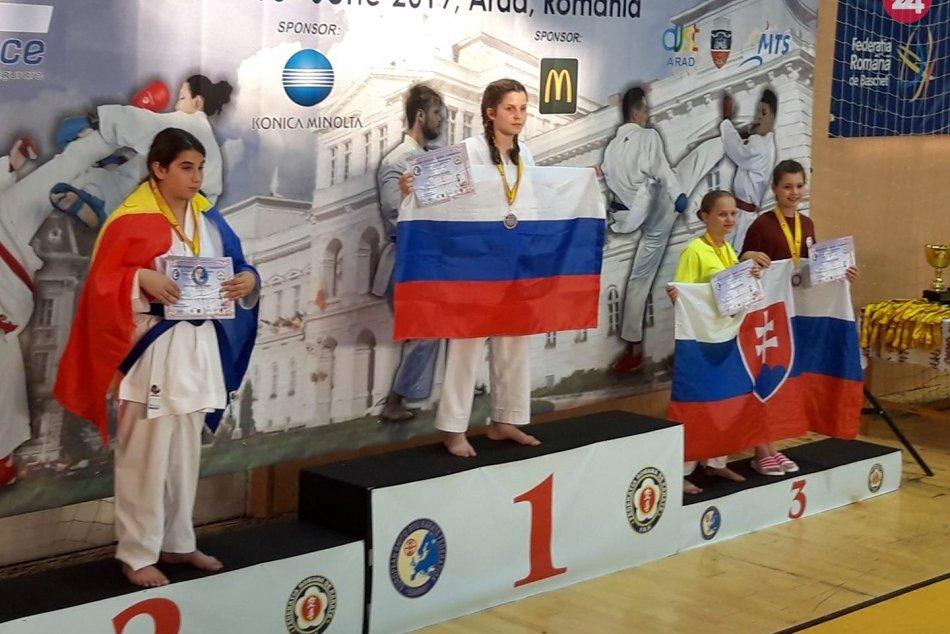 Majstrovstvá Európy v karate: Žilinčanky získali titul