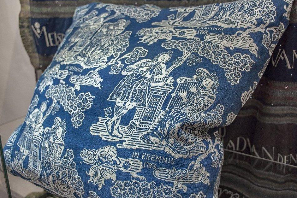 Najstaršia dochovaná modrotlač: Hotová nádhera