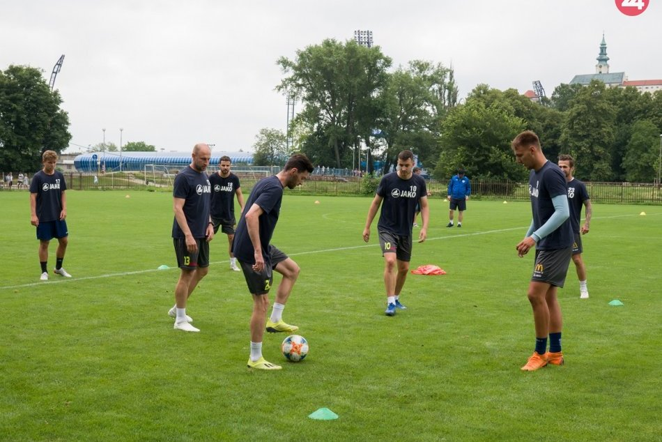 FC Nitra začal s letnou prípravou: Na prvom tréningu 33 hráčov