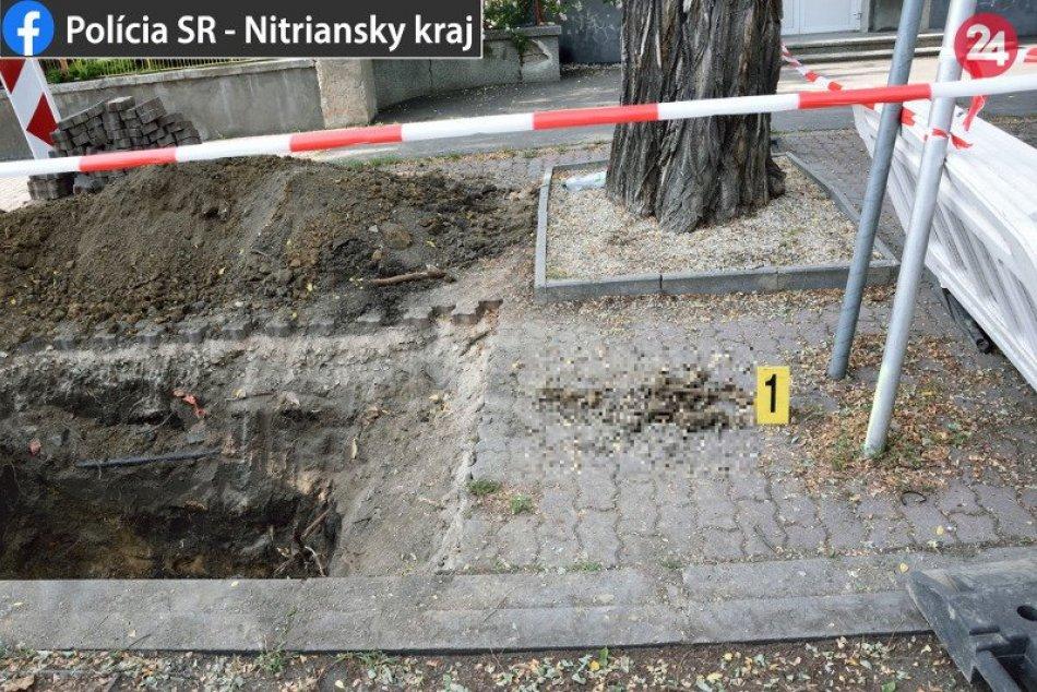 Nález ľudských pozostatkov v Nových Zámkoch na Andovskej ulici