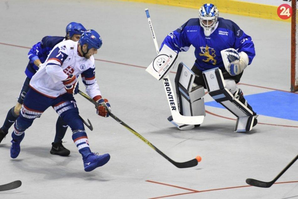 Finále MS v hokejbale: Slovensko - Fínsko