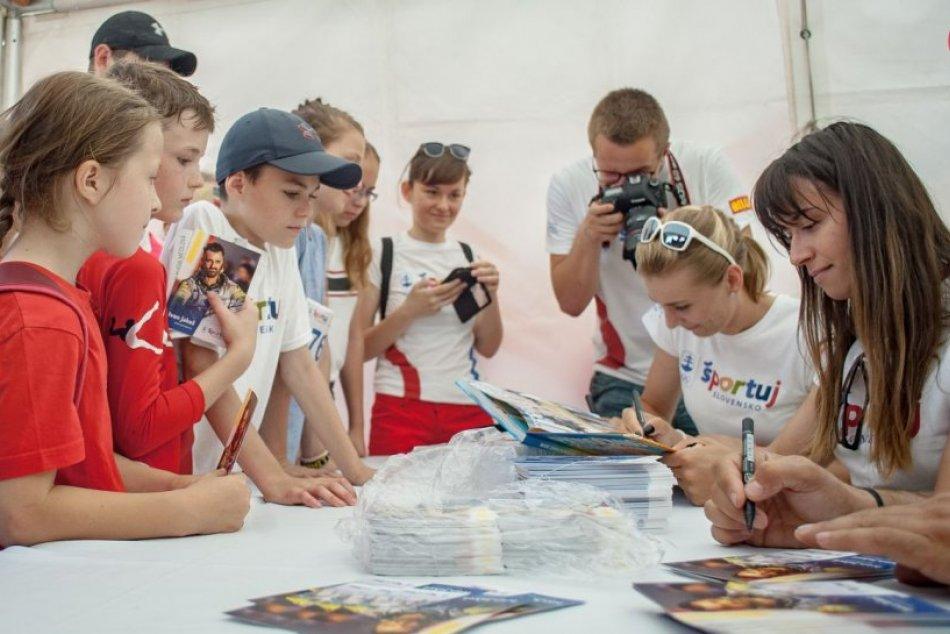 V OBRAZOCH: Olympijský deň v Banskej Bystrici