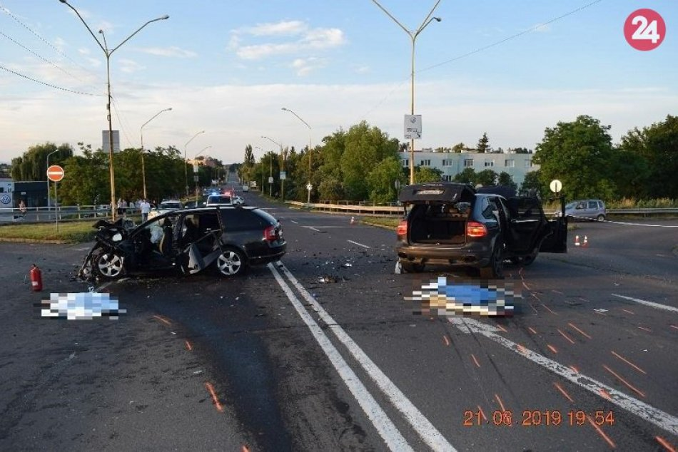 Nehody v BB kraji v 25. týždni