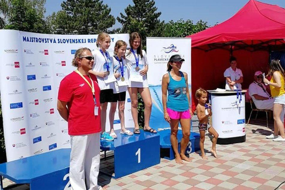 Plavecký klub Orca Michalovce úspešný na majstrovstvách