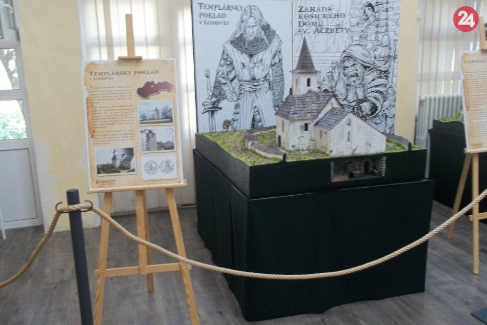 Do Šale zavítali záhady Slovenska: Tajomstvá našej histórie v 3D podobe, FOTO