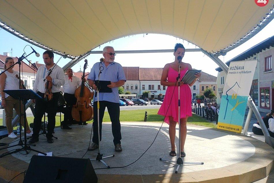Obrazom: Rožňavské kultúrne leto otvorili folkloristi