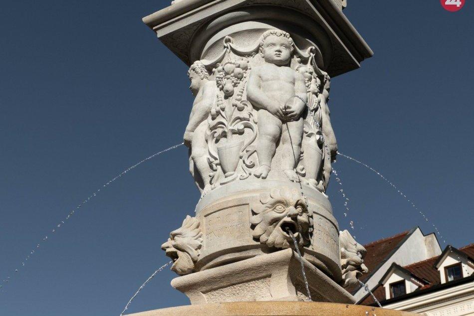 Maximiliánova fontána v novom šate