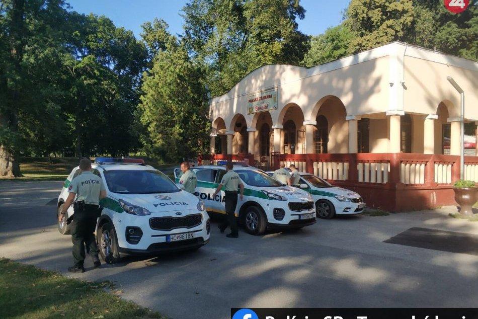 Polícia kontrolovala mládež v baroch Trnavského kraja