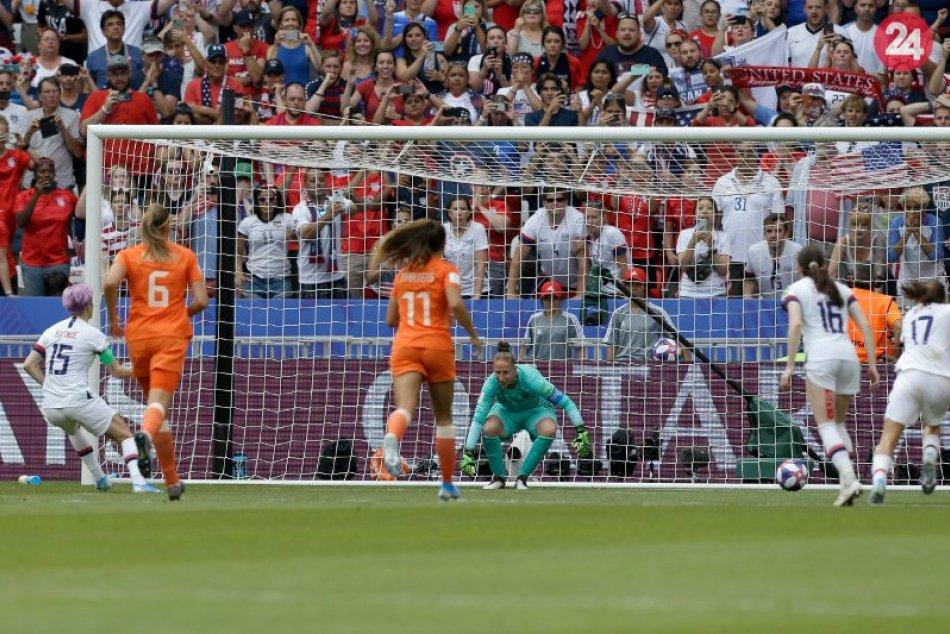 Kráľovné ženského futbalu sú Američanky
