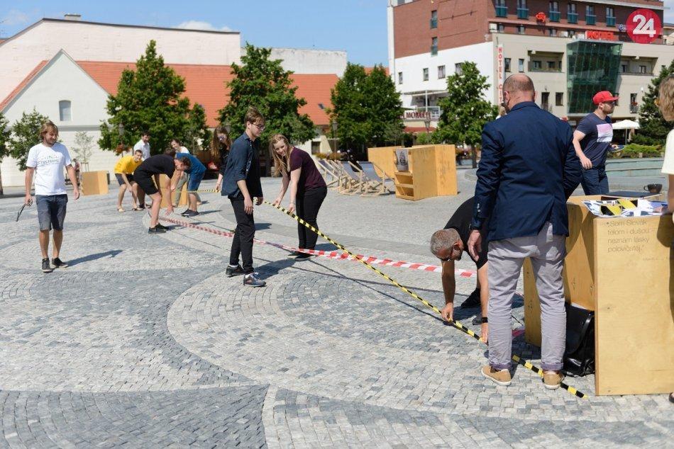 Dali hlavy dokopy: Odborníci i verejnosť diskutujú o pešej zóne i námestí, FOTO
