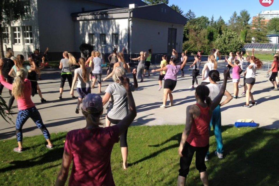 Cvičenia vo Vodárenskej záhrade