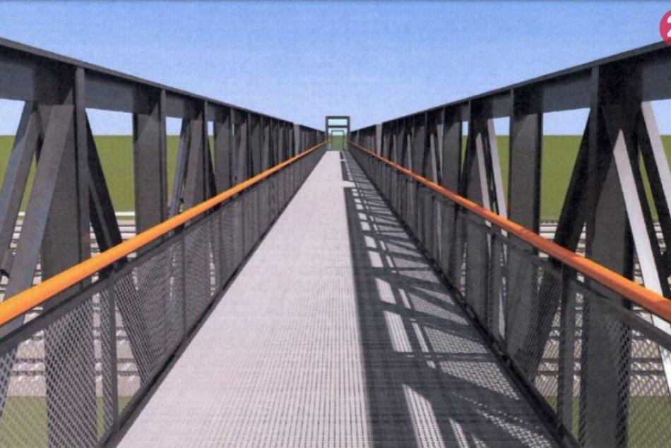 Most nad železnicou v Nitre opravia: Práce potrvajú 8 mesiacov, VIZUALIZÁCIA
