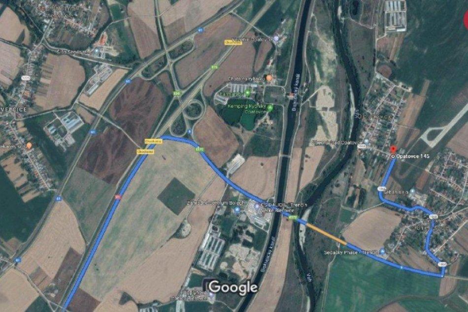 Príjazdy na Pohodu v smere od Bratislavy a Žiliny