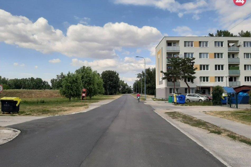 Koniec výtlkom a prekážkam: Na Sihoť vedie nová asfaltová cesta
