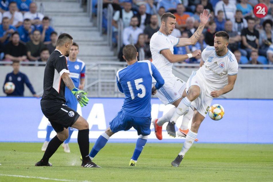 ŠK Slovan Bratislava – FK Sutjeska Nikšič 1:1 (0:0)