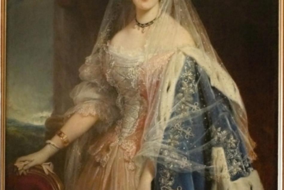Portrét grófky Katinky Kendeffy de Malomviz