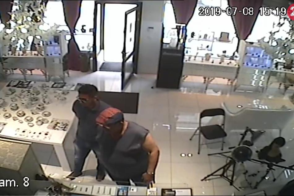 Krádež šperkov na Laurinskej