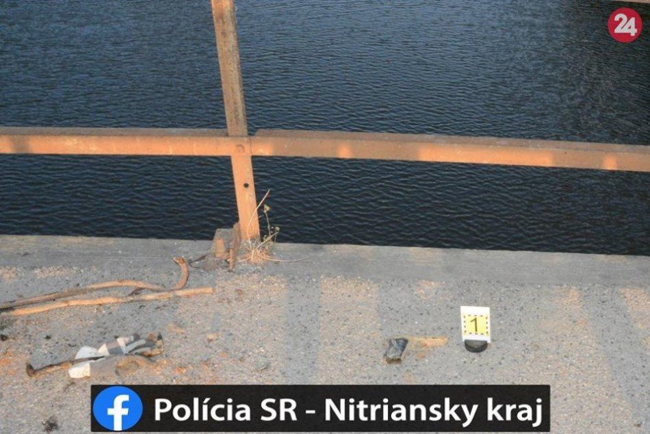 Ďalšia zbraň na dne rieky Nitry: Muž ju vylovil pomocou magnetu, FOTO