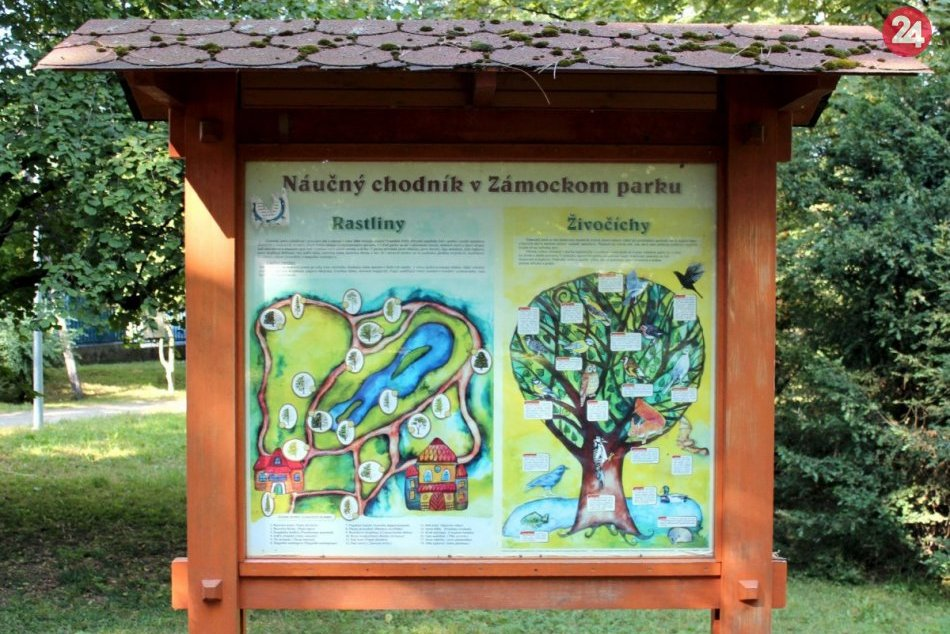 Zámocký park v Pezinku