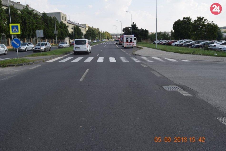 Pri nehode v Nitre sa zranilo 6 ľudí: Polícia hľadá svedkov