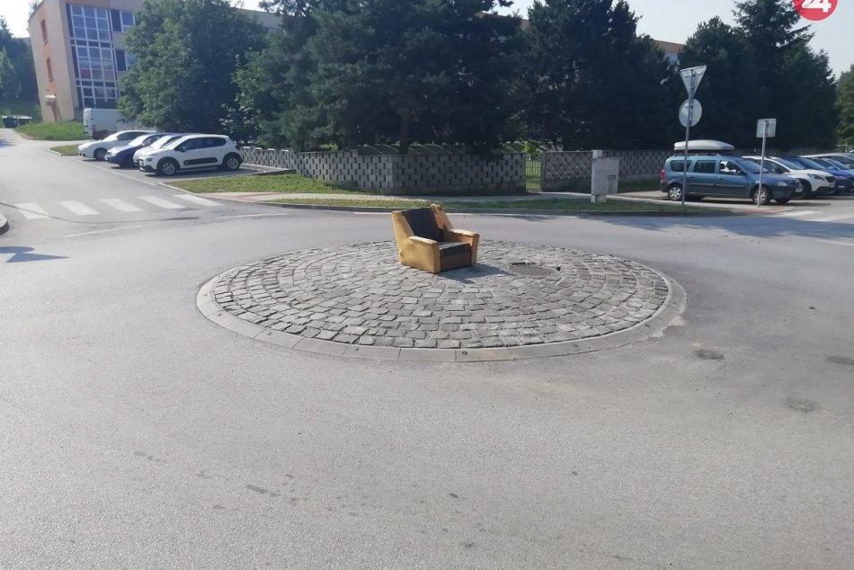 Zábery z miesta: Kruhový objazd v Prešove? Objavil sa tam takýto výjav